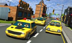 Crazy Talking Taxi Driver game screenshot 1/4