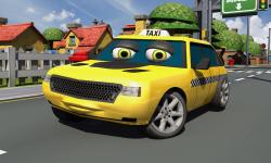Crazy Talking Taxi Driver game screenshot 4/4