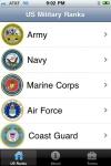 Military Ranks screenshot 1/1