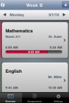 Classes  Stundenplan screenshot 1/1