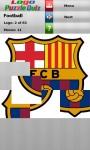 Logo Puzzle Quiz Football screenshot 1/3