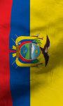 Ecuadore flag lwp Free screenshot 3/5