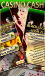 BlackJack Casino Cash 21 Wins free screenshot 2/3