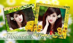 Flower Photo Frame Collage screenshot 1/6