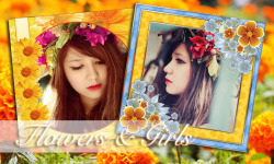 Flower Photo Frame Collage screenshot 2/6