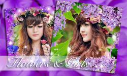 Flower Photo Frame Collage screenshot 4/6