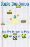 Doodle Blue Jumper Shoot-em Up screenshot 1/5