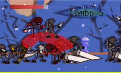 Ninja Slicer Attack - Free screenshot 3/5