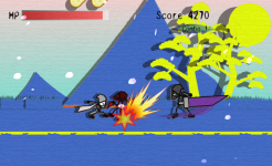 Ninja Slicer Attack - Free screenshot 4/5