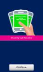 Shaking Call Receive screenshot 1/3