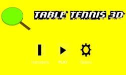 Table Tennis3D  screenshot 1/2