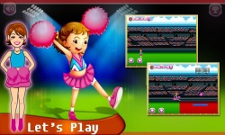 Princess Cheerleading Girl screenshot 1/5