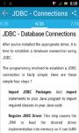 Learn JDBC screenshot 2/3