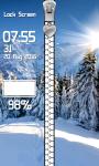 Free Winter Zipper Lock Screen screenshot 4/6