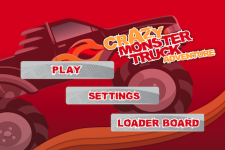 Crazy Monster Truck Gold screenshot 1/5