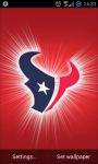 Houston Texans NFL Live Wallpaper screenshot 2/4