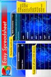 Easy Spreadsheet Gold screenshot 2/5