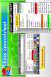 Easy Spreadsheet Gold screenshot 3/5