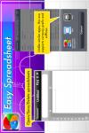 Easy Spreadsheet Gold screenshot 5/5
