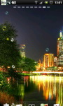 City Night River Live Wallpaper screenshot 3/6
