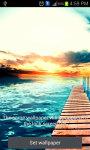 SunSet on Beach Live Wallpaper screenshot 1/3