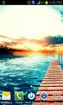 SunSet on Beach Live Wallpaper screenshot 2/3