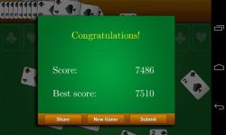 Classic Spider Solitaire screenshot 3/3