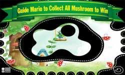 Funny Guy Roll and Eat Mushroom Cute Game for Kids screenshot 2/6