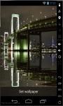Lighted Bridge Live Wallpaper screenshot 2/2