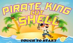 Pirate King Cut Shell - New Fruit Ninja Kid Game screenshot 1/3