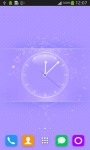 Beautiful Pink Clock screenshot 3/6