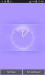 Beautiful Pink Clock screenshot 4/6