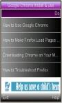 new Google Chrome Installation and usage guide screenshot 1/1