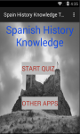 Spain History Knowledge test screenshot 1/6