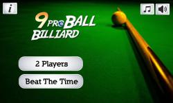 9 ball pro billiard screenshot 6/6