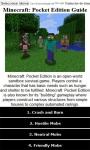Guide for Minecraft Pocket screenshot 1/1