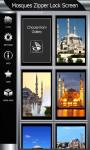Mosques Zipper Lock Screen screenshot 4/6