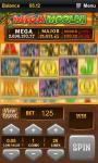 Spin Palace Mega Moolah Slot screenshot 3/5