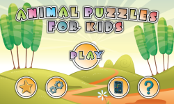 Animal Puzzles for KIDS screenshot 1/6