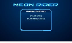 Neon Rider screenshot 1/3