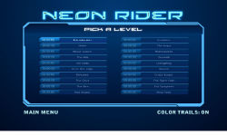 Neon Rider screenshot 2/3