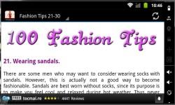 100 Fashion Tips 2014 screenshot 3/3