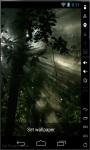 Sunrise In Forest Live Wallpaper screenshot 1/2
