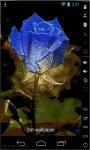 Rainbow Art Rose Live Wallpaper screenshot 1/3