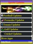 Sports Updates screenshot 1/2