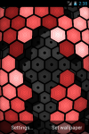 HEXGRID LIVE WALLPAPER FREE screenshot 1/6