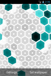 HEXGRID LIVE WALLPAPER FREE screenshot 2/6