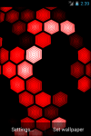 HEXGRID LIVE WALLPAPER FREE screenshot 3/6