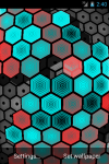 HEXGRID LIVE WALLPAPER FREE screenshot 6/6