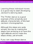 Exclusive MJ dance moves tutorial screenshot 1/6